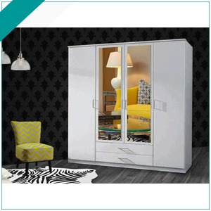 4 Door sliding Wardrobes