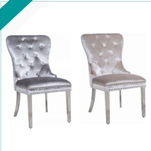HENNESSEY-GREY/CHAMPAGNE-CHAIR