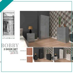 Bobby 2 Door Set