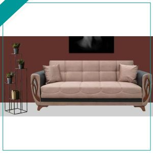 Oxford Brown Sofa